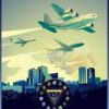NAS Fort Worth, CFLSW poster art Fort_Worth_C-130T_C-40_C-37_FLSW_v2_SP01253-featured-aircraft-lithograph-vintage-airplane-poster-art