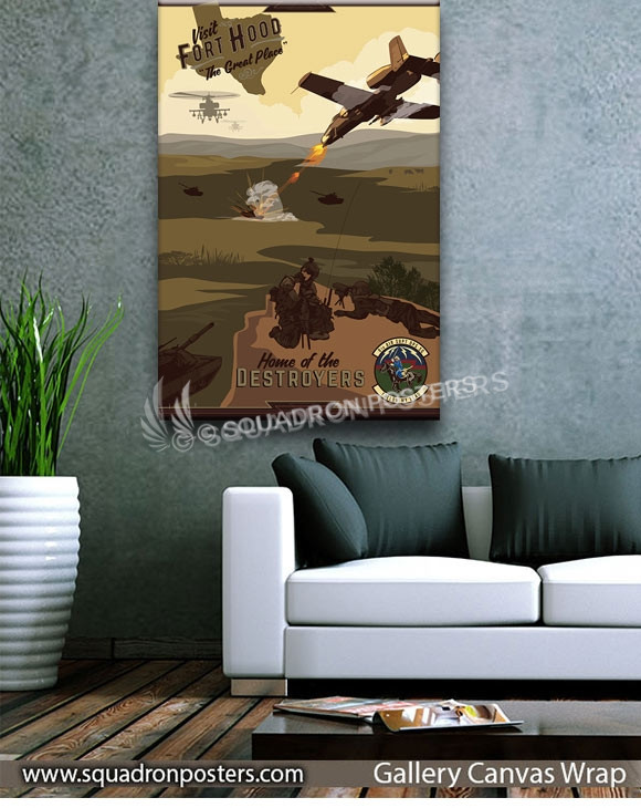 Ft_Hood_A-10_9th_ASS_SP00991-squadron-posters-vintage-canvas-wrap-aviation-prints