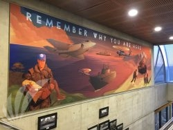 Australian Defense Force Academy Wall Mural