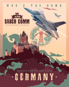 Germany_F-16_52d_comm_sq_SP01075-featured-aircraft-lithograph-vintage-airplane-poster-art
