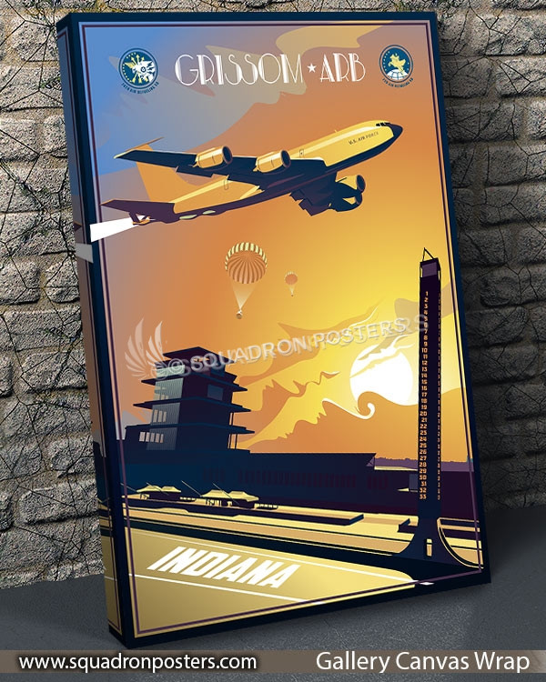 Grissom ARB, 72d ARS and 74th ARS, KC-135 – Squadron Posters