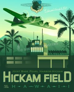 hawaii_hickam_field_hq_pacaf_ig_sp01130-featured-aircraft-lithograph-vintage-airplane-poster-art