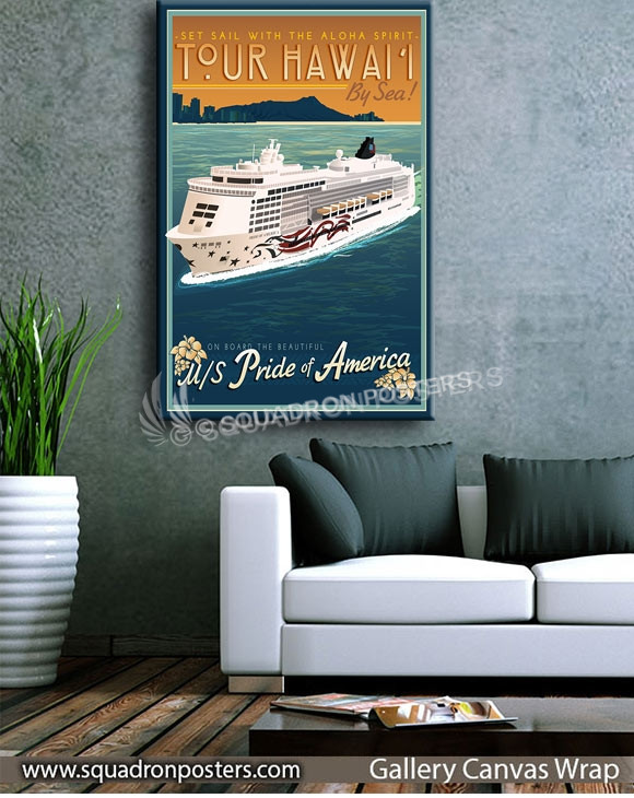 Hawaii_Pride_of_America_Cruise_Liner_SP00745_squadron-posters-vintage-canvas-wrap-prints