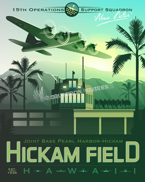 Hickam_Field_15th_oss_SP00748_featured-aircraft-lithograph-vintage-airplane-poster-art