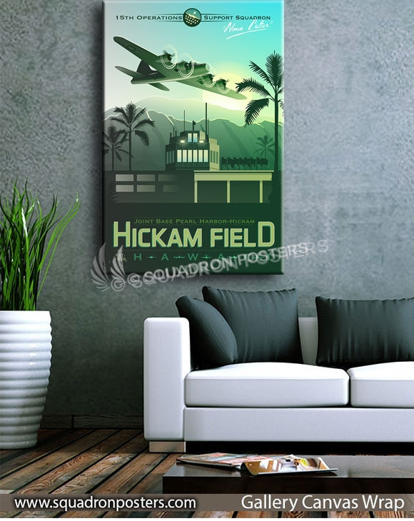 Hickam_Field_15th_oss_SP00748_squadron-posters-vintage-canvas-wrap-aviation-prints