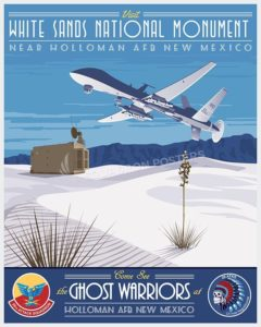 Holloman 29ATKS MQ-9 SP00617-vintage-military-aviation-travel-poster-art-print-gift