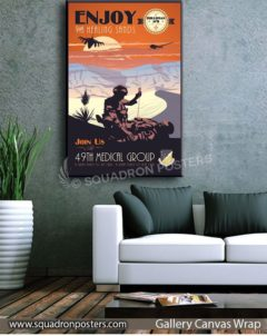 holloman afb 49th medical group squadron posters