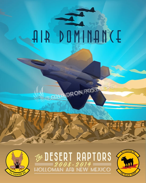 Holloman_F-22_7th_8th_FS_SP00829-featured-aircraft-lithograph-vintage-airplane-poster-art