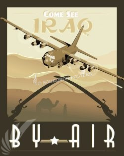 iraq-ac-130-gunship-poster-art