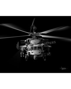 JB MH-60S SP01508-FEAT-jet-black-aircraft-lithograph-art