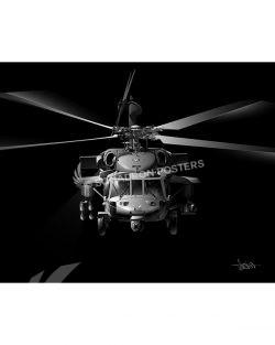 JB MH-60S SP01508-FEAT-jet-black-aircraft-lithograph-art