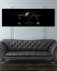 KC-10 2 ARS Jet Black Super Wide Canvas Print JB_McGuire-Dix_2D_ARS_KC-10_SP01306-military-air-force-aviation-artwork-poster-jet-black-litho