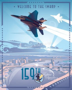 Jacksonsville F-15 159th FS V2_SP00662Mfeatured-aircraft-lithograph-vintage-airplane-poster