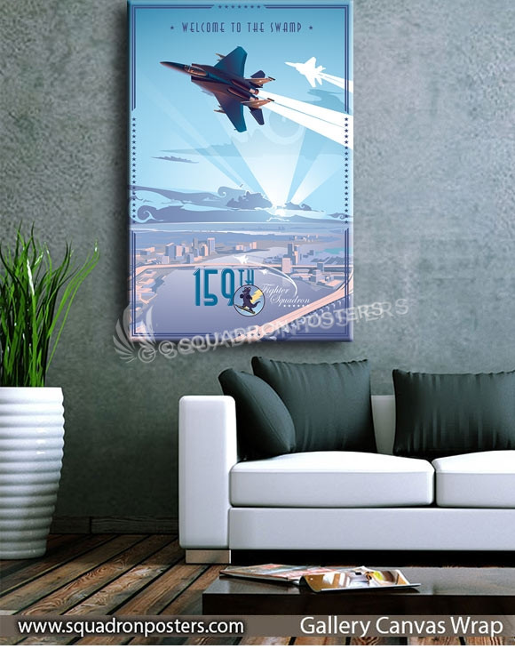 Jacksonsville F-15 159th FS V2_SP00662Lsquadron-posters-vintage-canvas-wrap-aviation-prints