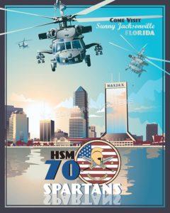 Jacksonville HSM-70 SP00613-vintage-military-aviation-travel-poster-art-print-gift