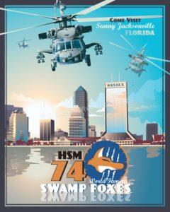 Jacksonville MH-60R HSM-70 SP00699 feature-vintage-print