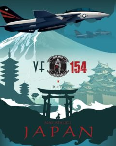 Japan_F-14_VF-154_SP00860-featured-aircraft-lithograph-vintage-airplane-poster-art