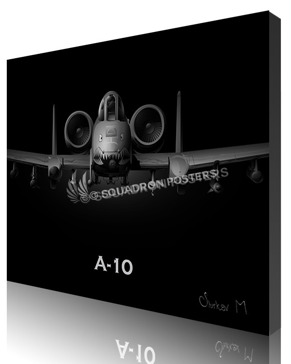 Jet Black SP00871-featured-canvas-lithograph