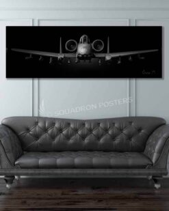 Jet Black A-10-SP00872- featured-image-military-canvas-print