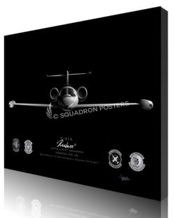 Jet Black Andrews AFB C-21 457th AS FINAL ModifySB SP01673M-featured-canvas-lithograph