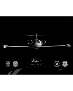 Jet Black Andrews AFB C-21 457th AS FINAL ModifySB SP01673M-FEAT-jet-black-aircraft-lithograph-art