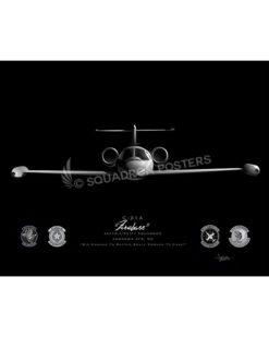 Jet Black Andrews AFB C-21 457th AS FINAL ModifySB SP01673M-FEAT-jet-black-aircraft-lithograph-art