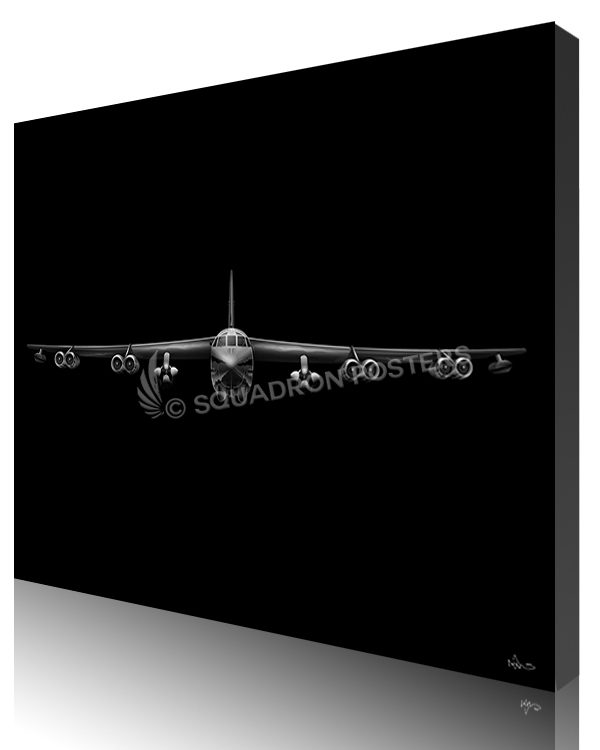 Jet Black B-52 AGM-86B v2 SP01445-featured-canvas-lithograph