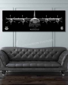 Jet Black C-130J Super Herc 37 AMU FCC SP00986-featured-image-military-canvas-print