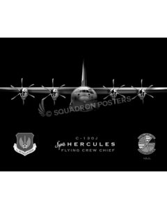 Jet Black C-130J Super Herc FCC SP00984-FEAT-jet-black-aircraft-lithograph