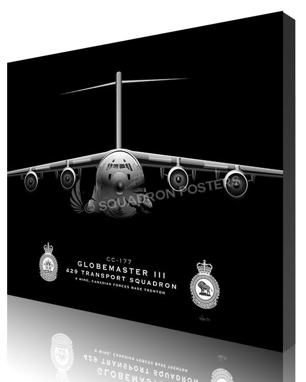 Jet Black C-17 CFB Trenton CC-177 429 TS 20x16_R2 SP01402-featured-canvas-lithograph
