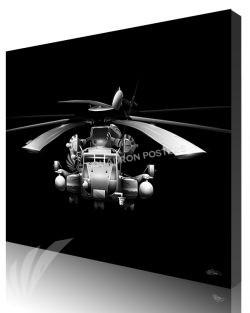 Jet Black CH-53E Super Stallion SP01286-featured-canvas-lithograph-art
