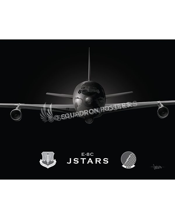968a8d1c6fa7 Jet Black E-8C JSTARS 16 ACCS 20x16 Max Shirkov SP01547MFEAT-jet-black