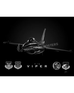 Jet Black F-16 115th FW-SP01076MFEAT-jet-black-aircraft-lithograph