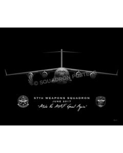 Jet Black JB Lewis-McChord 57th WPS C-17 modifySB SP01539-MFEAT-jet-black-aircraft-lithograph