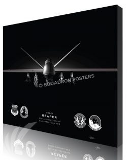 Jet Black MQ-9 214th ATKG modifyMS SP01558-featured-canvas-lithograph