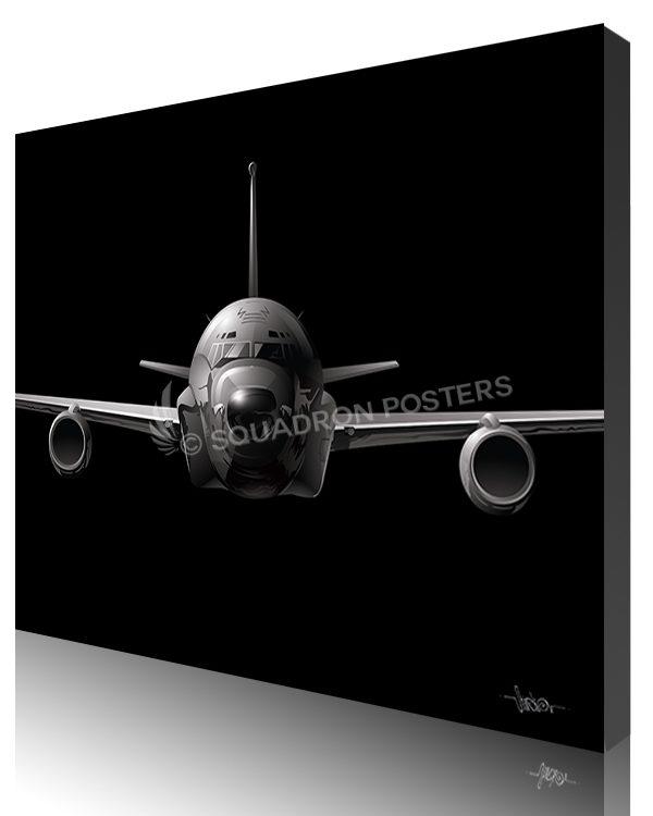 Jet Black RC-135 SP01435-featured-canvas-lithograph-art