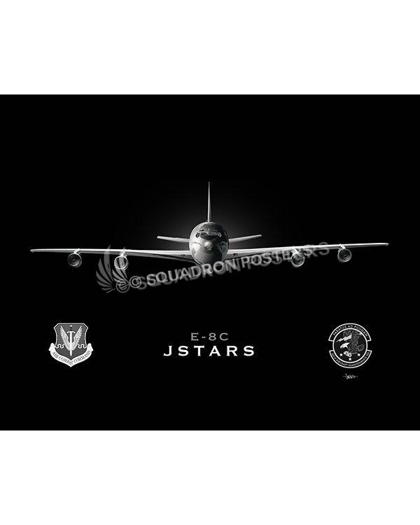 Jet Black Robins AFB 461st AMXS Lithograph