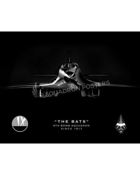 Jet black B-1 Bats SP01062-poster-jet-black-aircraft-lithograph