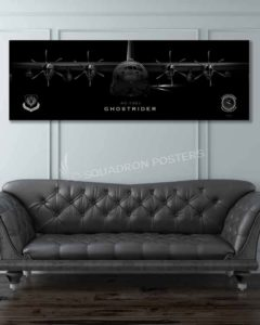 AC-130J, 1 SOAMXS Jet_Black_AC-130J_60x20_SP01457military-air-force-aviation-artwork-poster-jet-black-litho