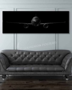 A320 commercial Jet Black Lithos