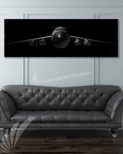 C-141 Starlifter Jet Black Jet_Black_C-141_60x20_SP01265-military-air-force-aviation-artwork-poster-jet-black-litho-art