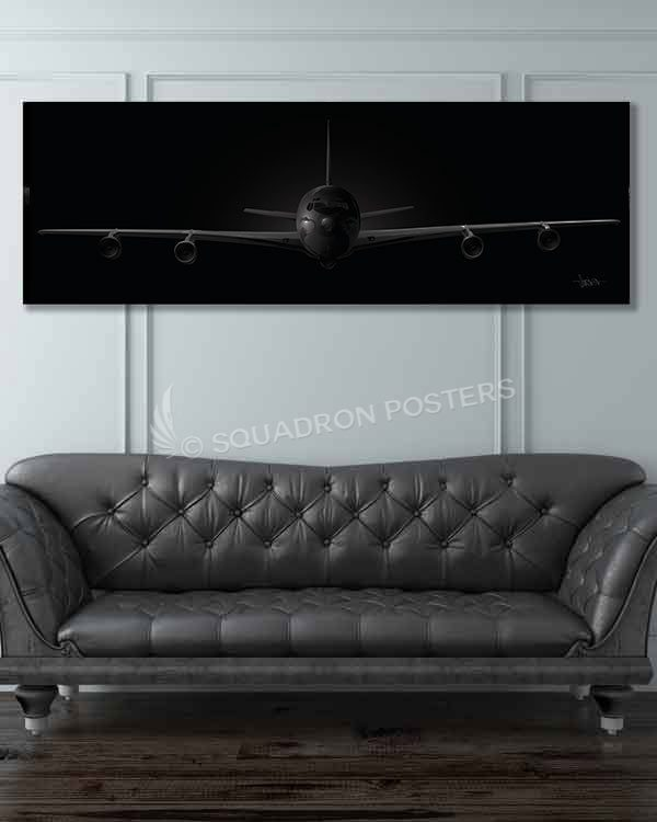 Jet_Black_E-8C_JSTARS_60x20_Generic_Max_Shirkov_SP01550military-air-force-aviation-artwork-poster-jet-black-litho