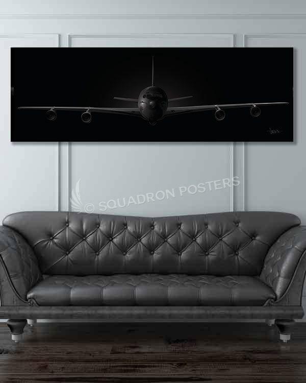 Jet_Black_E-8C_JSTARS_60x20_Generic_Max_Shirkov_SP01550military-air-force-aviation-artwork-poster-jet-black-litho