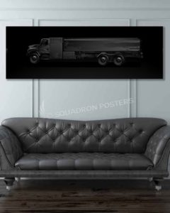 Fuel Truck - Aviation Jet Black Lithos