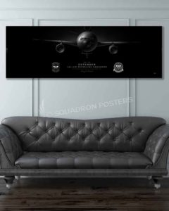KC-10 32 ARS Jet Black Super Wide Canvas Print Jet_Black_JB_Mcguire-Dix_KC-10_32d_ARS_V2-Jet_Black_60x20_SP01408-military-air-force-aviation-artwork-poster-jet-black-litho