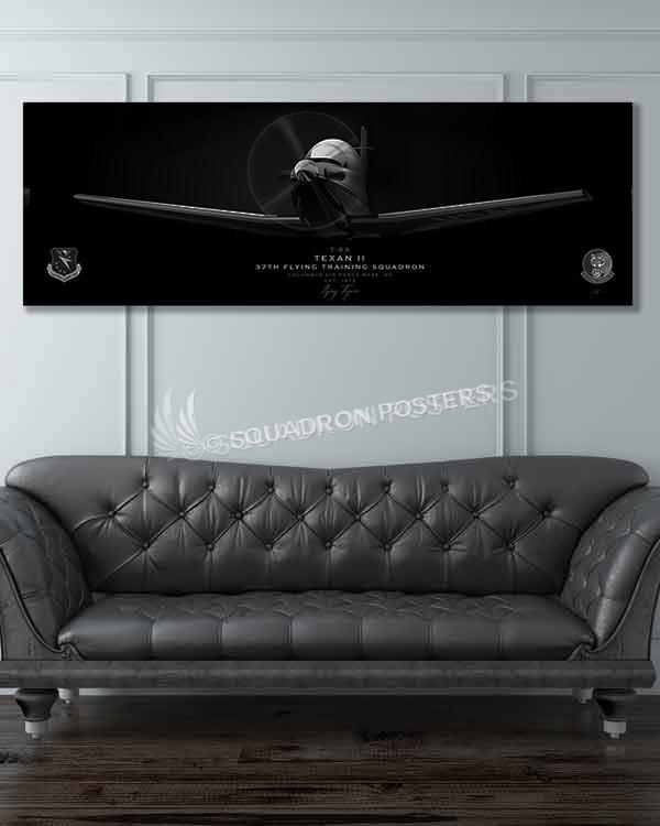 Jet_Black_T-6_Texan_Columbus_AFB__37th_FTS_SP01090-military-air-force-aviation-artwork-poster-jet-black-litho