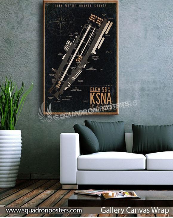 John-Wayne-orange-country_KSNA_airfield_map-SP00900-squadron-posters-vintage-canvas-wrap-aviation-prints