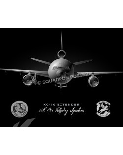 KC-10 Jet Black v2 76th ARS SP00996-v2-FEAT-jet-black-aircraft-lithograph-art