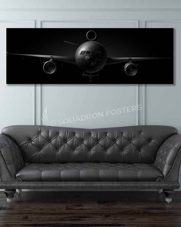 KC-10 jet black featured-image-military-canvas-print