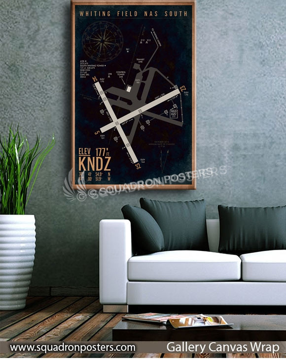 KNDZ_Whiting_NAS_South_Airfield_Art_SP01449-squadron-posters-vintage-canvas-wrap-aviation-prints